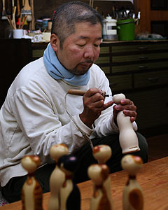 KOKESHI CRAFTMAN PHOTO